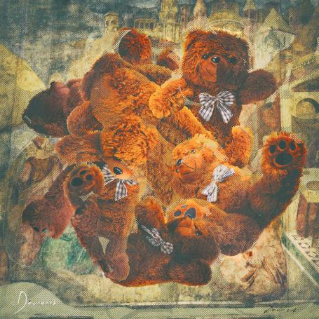 3D Pau Teddy Bear
