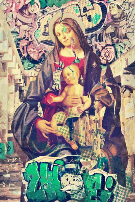 Madonna e graffiti